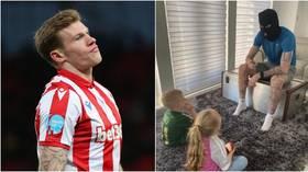 Irish footballer fined for 'IRA' balaclava 'history lesson' with kids