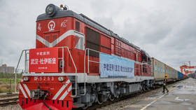 First train with medical supplies for Europe leaves Wuhan as China eases Covid-19 lockdown