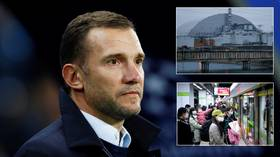 Coronavirus pandemic is like CHERNOBYL, says Ukraine legend Shevchenko