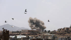 Saudi-led coalition in Yemen launches airstrikes on Houthi-held capital Sanaa – report