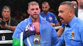 Billy Joe Saunders' boxing license suspended following controversial video