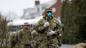 Pentagon confirms first US Army death from Covid-19