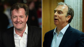 'Stop being irritating': Piers Morgan feuds with Peter Hitchens over 'disproportionate' Covid-19 lockdown measures