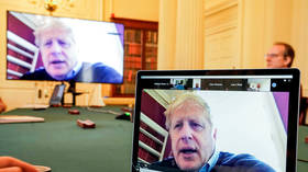 Give us a password clue, Boris! PM Johnson LEAKS cabinet Zoom meeting's private ID as he tweets screenshot
