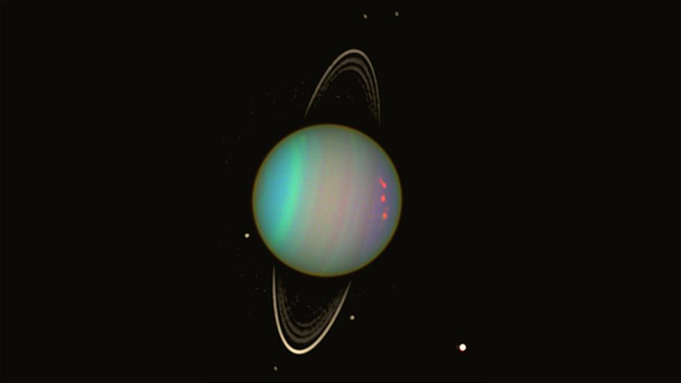 Mystery of Uranus' unique off-kilter tilt finally EXPLAINED by massive ancient impact - RT
