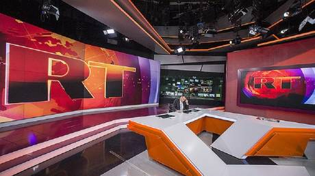RT International newsroom (FILE PHOTO)