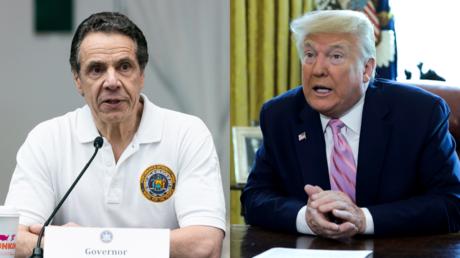 Andrew Cuomo and Donald Trump © Reuters / Jeenah Moon and Yuri Gripas