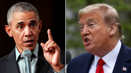Barack Obama and Donald Trump © Reuters / Fabrizio Bensch and Leah Millis