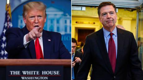 Donald Trump and James Comey © Reuters / Jonathan Ernst and Joshua Roberts