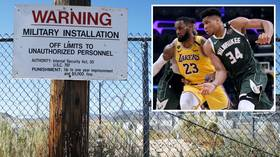 'Ask the government': Former Celtics star claims NBA season could resume at classified US Air Force site Area 51