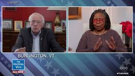 Never mind the pandemic, when are you dropping out? Bernie Sanders gets a raw deal on 'The View'