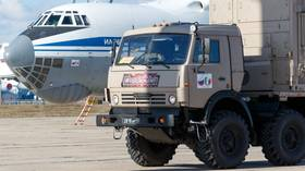 Help is here: Russian military medics arrive in Serbia to assist in Covid-19 battle