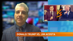 Jim Acosta Gets Talking Points From Anti-Trump Ad Paid For by a Liberal Super-PAC