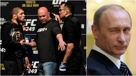 Dana White says Khabib is OUT of UFC 249 after fake account dupes fans into thinking Putin stepped in to save fight with Ferguson