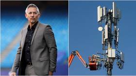 'Right up there with Flat Earth': Football pundit Lineker pans conspiracy theory linking 5G technology to coronavirus pandemic