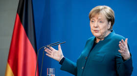 EU faces 'biggest test yet,' Merkel says, as coronavirus strains continental bonds