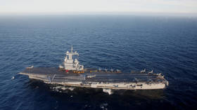 French flagship aircraft carrier 'Charles de Gaulle' cuts Middle East mission short as DOZENS of sailors exhibit Covid-19 symptoms