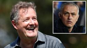 'We have found more idiots': Piers Morgan slams Jose Mourinho as Spurs boss breaks isolation rules to train with players (PHOTOS)