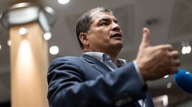 'Entire case is criminal conspiracy': Ecuador's Correa reveals 'fraud' behind corruption case against him to RT