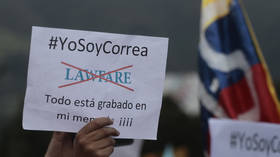 Ecuador's Correa is latest example of Latin America's right-wing using courts to smash adversaries, hold power