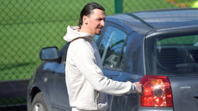 'He wanted to touch the ball again': Zlatan dodges Italian lockdown and trains with Swedish club he co-owns (PHOTOS)