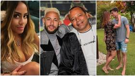 Toy boys, models & court cases: Inside Neymar's colorful family life after the news his mum is dating fan 30 YEARS her junior