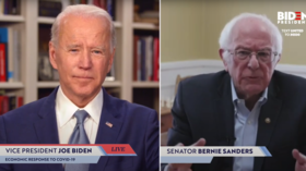 Sanders joins Biden livestream to give full-throated ENDORSEMENT