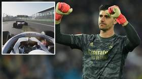 From the pitch to the pits: Thibaut Courtois swaps sports as he gets set to compete in F1 Esports Chinese Grand Prix (VIDEO)