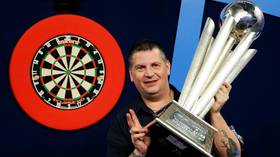 Double trouble: BAD INTERNET connection rules darts ace Gary Anderson out of online PDC tournament