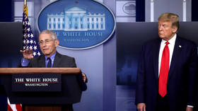 Wuhan lab origin of Covid-19 'seems to make sense', Trump says as Fauci douses cold water on 'man-made virus' conspiracy