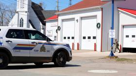 Canadian police detain gunman who left several victims in Nova Scotia