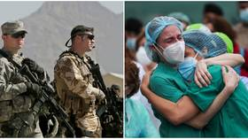 To feel safe, does the world need more weapons or better healthcare? The coronavirus pandemic proves it's the latter