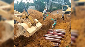 Brazilian Covid-19 victims buried in MASS GRAVES as fatalities mount (VIDEOS)