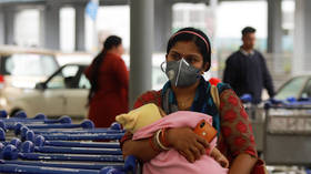 Crawl away if you dare? Indian official to be disciplined after cases filed against BABY & 3yo among lockdown violators