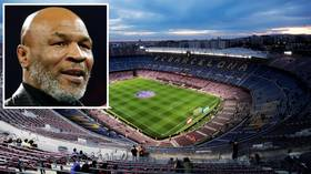 Up in smoke: Mike Tyson's CBD business partner targets naming rights for Barcelona's Camp Nou stadium