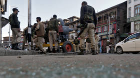 Multiple civilians wounded as grenade left by earlier clashes goes off in Kashmir