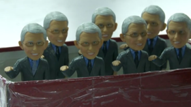 Chinese factory overwhelmed with Fauci bobblehead orders, uses cash to buy masks in China