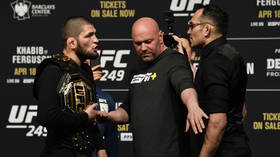 Khabib's father Abdulmanap Nurmagomedov 'transferred to Moscow hospital with heart problems on special flight' – reports