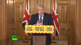 Boris Johnson says UK 'past the peak' of Covid-19 outbreak at first briefing after his recovery (VIDEO)