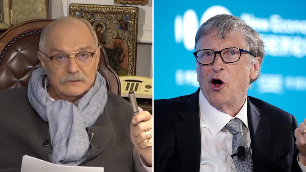 'Bill Gates seeks to microchip humanity!' Russian Oscar ...