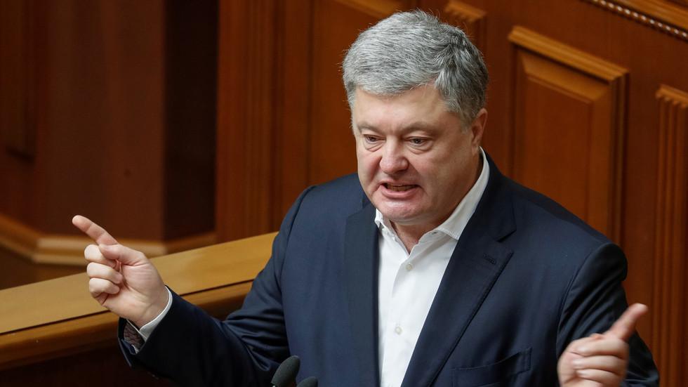 Ukraine`s ex-leader Poroshenko blames President Zelensky`s office for...