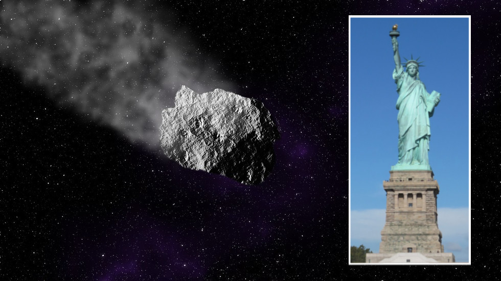 , Statue of Liberty-sized ASTEROID barrelling towards Earth as six space rocks set to skim past, TravelWireNews | World News, TravelWireNews | World News