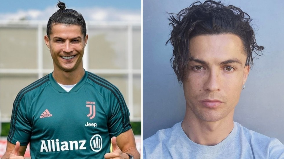 Hair We Go Cristiano Ronaldo Asks Fans For Approval As Portugal Star Drops His Man Bun And Reveals New Hairstyle At Juventus Rt Sport News