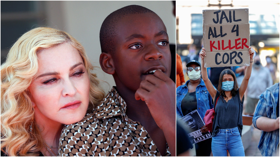'Racism is over now, thanks!' Madonna trashed for tweeting son's 'TRIBUTE DANCE' to George Floyd amid Minnesota chaos
