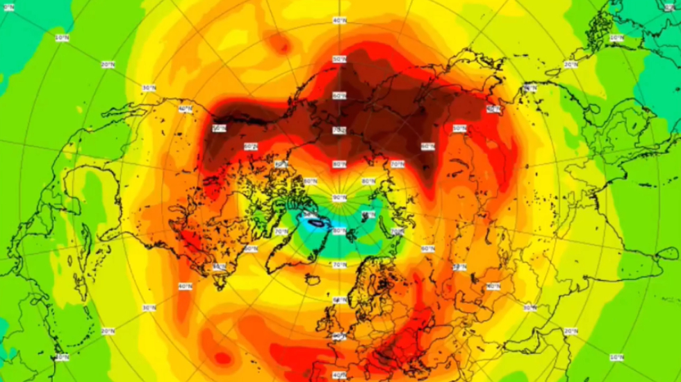 Record ozone hole over Arctic in March now closed - U.N.