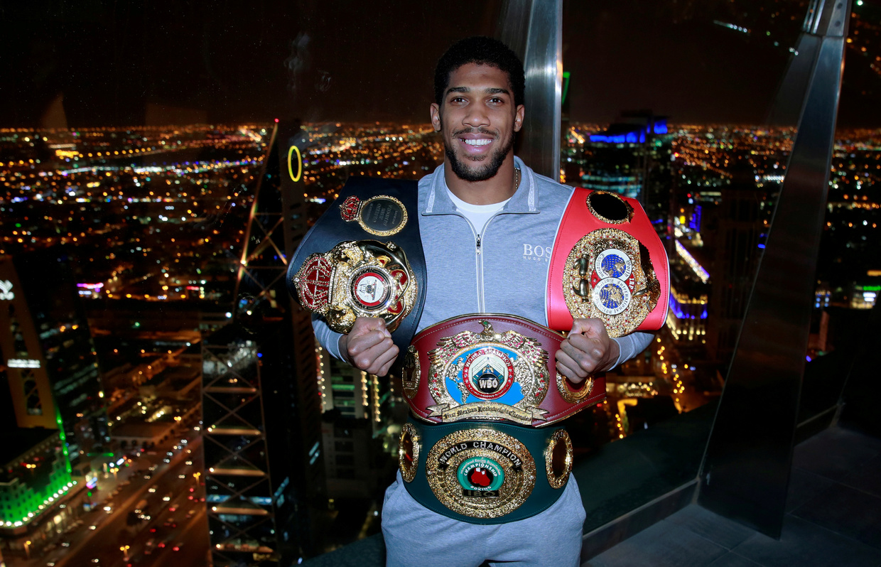 Joshua would be keen to see a Tyson return. © Action Images via Reuters
