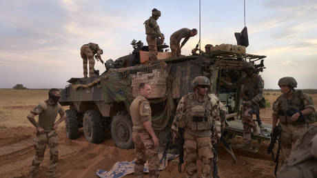 FILE PHOTO. French soldiers in Sahel © AFP / Michele Cattani