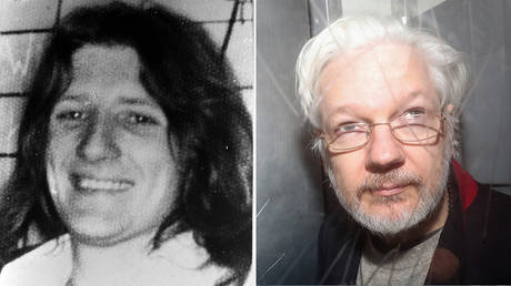 (L) Fermanagh and South Tyrone MP and IRA hunger striker Bobby Sands, who died in the Maze prison, Belfast, after 65 days of hunger strike. ©  Getty Images / PA Images; (R) WikiLeaks' founder Julian Assange © REUTERS/Simon Dawson