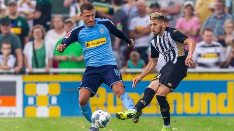 El Melali (R) in action for Angers  © TF-Images / Getty Images