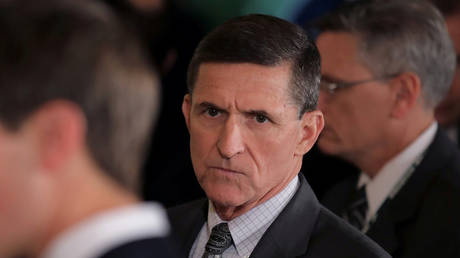 File photo of former White House National Security Advisor Michael Flynn © REUTERS/Carlos Barria/File Photo